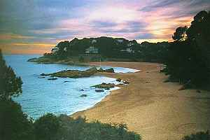 photo of beach on Costa Brava