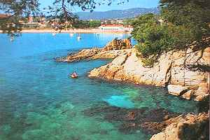 coves on the Spanish Costa Brava